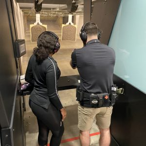 pistol private training with Soteria Training Academy